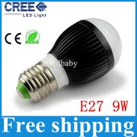 balls cold - AC85 V w X3W E27 E14 B22 GU10 base type warm cold white LED bubble ball bulb
