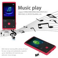 clock radio mp3 - HOTT MU1036 Bluetooth MP3 Player GB Inch Screen Sports MP3 Player High Quality Lossless Recorder FM E Book Clock V1689