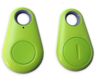Wholesale Wireless Bluetooth Smart Anti Lost Tracker Alarm Anti lost key finder remote camera For iphone Samsung S7 HTC Blackberry Smartphone