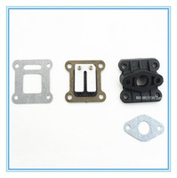 Wholesale HP Carbon Fibre Reed Valve with inlet gasket for stroke cc cc engine Mini Pocket Bike Dirt Bike and ATV Quads