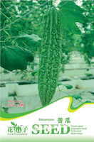 Wholesale Bitter Gourd Seed Vegetables New Seeds Slimming Organic Natural Plant C052 Garden Supplies from China
