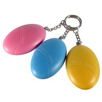 Wholesale Personal Portable Guard Safety Security Alarm Keychain Colors