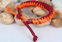 beaded greeting cards - Fashion Bracelet For Women Rope Knit Bracelet Paracord Bracelet Friendship Bracelet Send Friend with Greeting Cards