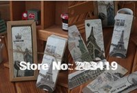 attraction world - Bookmarks greeting card paper antique vintage gift World Heritage Sites attractions landscape CN post