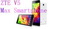 Cheap ZTE V5 Max Smartphone 64bit 4G LTE Android 4.4 Quad Core 2GB RAM 16GB ROM 5.5 Inch IPS 1280*720 13.0MP HD Screen OTG GPS Dual SIM Bluetooth