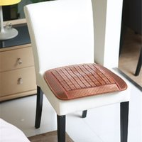 bamboo chair cushion - Bamboo Seat Cushion Chinese Traditional Nature Bamboo Handmade Chair Mats durable Breathable Mats for Sale LX1512