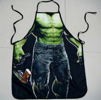 funny novelty aprons - 2015 latest fashion Novelty Funny Superman Spider man Batman Aprons Sexy Men Women Kitchen Cooking Chef Apron DHL