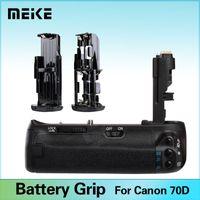 Wholesale MeiKe Professional Battery Grip Holder for Canon EOS D Camera Replace as BG E14 BGE14 as LP E6