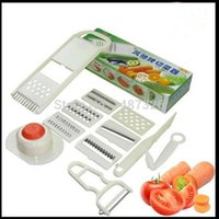 dicer chopper - New Nicer Dicer Plus piece Multi Vegetable Chopper Peelers Food Slicer Cutter Containers Fruit Slicer