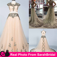 arab dress designer - 2015 Zuhair Murad Wedding Evening Dresses Formal Prom Gowns Haute Couture Designer Arab Sexy Style Ball Occasion Celebrity Bridal Party Wear