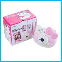 Wholesale 2016 new arrival Fujifilm Instax Mini Hello Kitty Instant Camera INS MINI KIT Polaroid refurblish Japan import