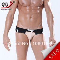 Cheap WJ men's swim briefs sexy mens swimwear beach swimwear men swim trunks men swimwear trunk item 3006-SJ