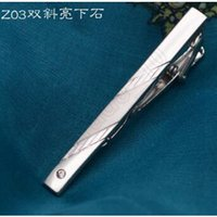 Wholesale 9999lot CCA3583 High Quality Fashion Tie Clip Silver Tone Metal Clamp Jewelry Business Man Necktie Father Tie Clip Men s Tie Clip