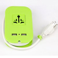 bar standards boards - Fashion Green Mini Power Strip with USB Electrical Socket M US Standard Power Bar Plug Board