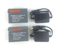 Wholesale Htb ab fiber transceiver the media converter single core Single fiber converter fast km SC M singlemode singlefiber