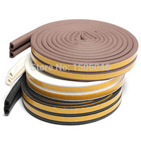 adhesive foam insulation - 5M Weatherbar for Window Draught Self Adhesive D Type Foam Seal strip insulation Strip Rubber Roll windproof dustproof Soundproo A3