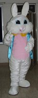 rabbits for sale - SX0831 animal an adult white rabbit mascot costume for adult to wear for sale for party