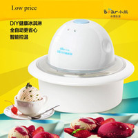 Wholesale Bear Ice Cream Machine Battery Ice Cream Maker ml A3