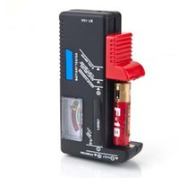 Wholesale New Indicator Universal Battery Cell Tester AA AAA C D V Volt Button Checker Drop Shopping Wholesales