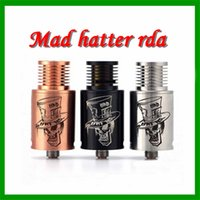 hatter - 2015 ARD Mad Hatter Rda Clone Newest Products Arrvial Mechancial Electronic Cigarette Mad Hatter Rda Mad Hatter Atomizer From China Ecigs