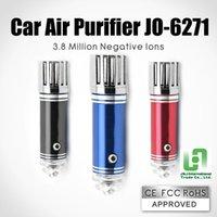 Wholesale Auto Car Fresh Air Purifier Oxygen Bar Ionizer Hot Best Newest Air Ozonator Ionizator Car Air Freshener For Clean Smoke Air