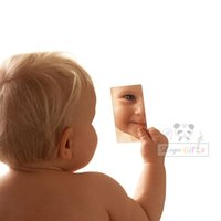 Wholesale Life through the mirror we do not see things as they are we see them as we are high quality compact mirror can be custom logo