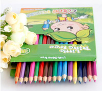 Wholesale Secret Garden Drawing Pencil Sets Color Art Colored Pencils Drawing Pencils for Secret Garden Pencil Pouch Artist Sketch Set