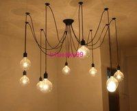 Wholesale Popular edison light Pendant Lamp Edison Light Chandelier Edison pedant Edison New grand listed