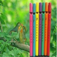 Wholesale 1pcs The mini birds flute music rhythm lark whistle toys baby toy educational toys bird flute whistle novelty toy