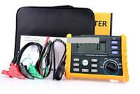 Wholesale HYELEC MS5910 RCD Loop Tester Multimeter for GFCI Loop Resistance Testing
