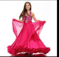Wholesale Nail bead gauze sleeveless white pink feather dress PROM dresses bridesmaid wedding girls pageant vestido DE daminha childrenM003