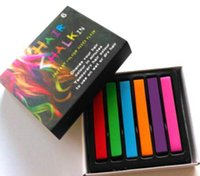 Wholesale 4 Colors Non toxic Hair Chalk Easy Temporary Hair Color Dye Pastels Kit HAIR DECORATION