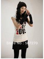 arm modeling - Style Women s modeling wrist Warmer Fingerless Grey Mitten Half Arm fingerless Gloves New