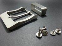 Wholesale Agio pure titanium belt special belt small screws special titanium ring belt allergy free belt buckle