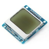 Wholesale 1pcs High Quality x84 LCD Module White backlight adapter PCB for Nokia for Arduino
