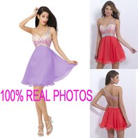 Cheap Model Pictures 2015 cocktail dress Best Tulle Sweetheart short prom dresses