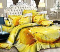 Cheap 3D Grapefruit orange designer bedding comforter set for queen size bedspread duvet cover bed in a bag sheet bedsheet bedroom quilt linen