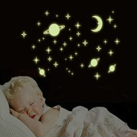 baby universe - DIY toys Home Wall Ceiling Glow In The dark Space and universe Stickers Decal Baby Kids Bedroom Decal For Baby Kid s Bedroom Nursery Room