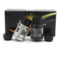 air force ones - Authentic Air Force One RDA PEEK Insulator with Top Airflow control Dripper Atomizers huge vapor rda fit E Cig DHL Free