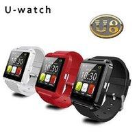 Wholesale Fashion Bluetooth Smart Wrist Watch U8 U Watches Altimeter Smartwatch Wristwatch For iPhone i6s Plus Samsung s6 Note HTC Sony Cell Phones