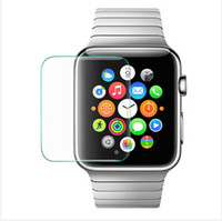 packing film - Tempered Glass Screen Protector Guard Film MM D For Apple Watch Iwatch MM MM With Retail Packing DHL Free