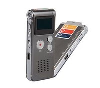 Wholesale Rechargeable Digital Sound Recorder GB Steel MP3 player recorder records