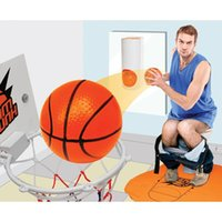 basketball games fun - Toilet Bathroom Mini Basketball Slam Dunk Fun Game Gag Novelty Gift Present