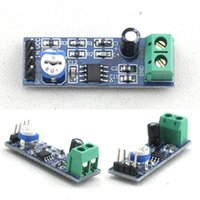 audio amplifier ics - 100 Brand New Popular sale LM386 Audio Amplifier Module