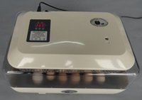 Wholesale Good quaility automatic mini egg incubator poultry brooder chicken hatcher JANOEL24 with CE certificate