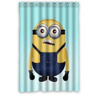 art top curtain - new Designer Despicable Me Shower Curtain x72 inch DIY Painting Art top quality