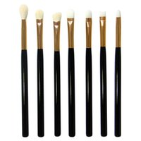 Wholesale New Arrivals set MultiPurpose Makeup Brush Blusher Eye Shadow Foundation Brushes Tools Goat Hair Wooden Handle IA28