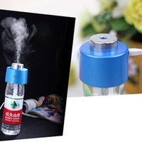 Wholesale Portable Fashion Mini Humidifier USB Charging Portable Bottle Steam Air Mist Diffuser for Office Room and Car