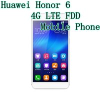 6 inch phone - Huawei Honor G LTE FDD Mobile Phone Octa Core Hisilicon Kirin Ghz GB RAM GB GB ROM Android Inch IPS p MP