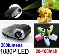 LCD 3d projector - 1080P Mini D Projector Multimedia LED Projector Home Education Cinema Video AV TV VGA HDMI USB
